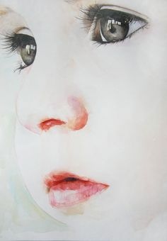 watercolor, I'm going to do of my future child :)