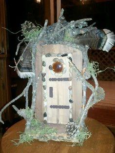 Black Hills fairy door.