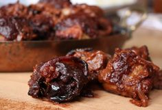Vosges Gourmet Chocolate Recipe - Bacon Bar and Chorizo Stuffed Dates
