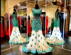 DJ0105890395 - Gorgeous Green lace over Sheer Nude Prom or Pageant Dress. Available at Rsvp Prom and Pageant :) http://rsvppromandpageant.net/collections/long-gowns/products/dj0105890395