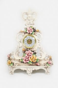 Image detail for -Capodimonte Table Clock