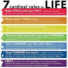 7 cardinal rules in life - Google Search