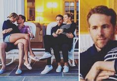 Ryan Reynolds Sitting Next To Hiddleswift Is All Of Us As A Third Wheel I don't ship Taylor and Tom. Just no.