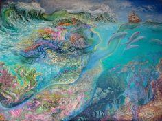 """Spirit of the Ocean 1"" par Josephine Wall"