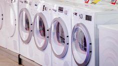 Wasmachines kunnen door de aanpassing wel een derde lichter worden in gewicht.