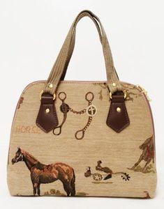 c8330ce11d3 Western Horse Tapestry Handbag Chicks Discount Saddlery