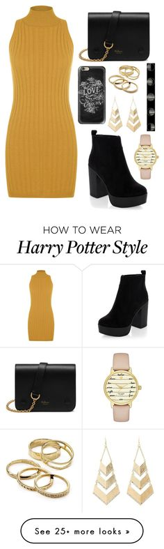 """Untitled #369"" by tychehecateartemishera on Polyvore featuring WearAll, Mulberry, New Look, Casetify, Kendra Scott, Charlotte Russe and Kate Spade"