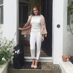 Camilla Thurlow, White Jeans, Duster Coat, Normcore, Pants, Jackets, Outfits, Style, Fashion