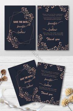 النمط الذهبي بطاقة دعوة زفاف جميلة Ai تحميل مجاني Pikbest Wedding Invitation Cards Wedding Invitations Beautiful Wedding Invitations