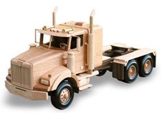 Precision drafted full sized plans by Toys and Joys Complete, At-A-Glance materials list Easy to follow instructions Beautifully precise patterns enable you to create and display quality replicas of your favorite cars, trucks, equipment etc. Parts Required                           10 TR-275       6 AP-244                   2 TP-350       4 AP-090                   1 STW-125       2 SB-037                   2 TW-125       2 GT-218