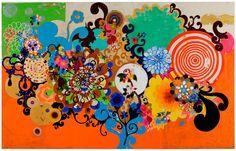 Bom dia! Semana passada aconteceu a SP|Arte –Feira Internacional de Arte de São Paulo, que foi criada em 2005– é um dos mais importantes eventos do mercado global de artes. Consagradas galerias trazem mais de 2.000 artistas do Brasil e do mundo e se reúnem anualmente num encontro criativo entre colecionadores, profissionais e amantes da arte. A artistaBeatriz Ferreira Milhazes (Rio de Janeiro RJ 1960). Pintora, gravadora e ilustradora participou da feira e teve seu quadro como destaque…