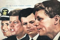 The Kennedy Brothers: Joseph Jr., John, Edward and Robert
