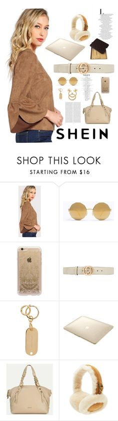 """""""Untitled #35"""" by beatriizzz ❤ liked on Polyvore featuring Mykita, Rifle Paper Co, Gucci, Sophie Hulme, Speck, Fendi, UGG, Louis Vuitton and Oris"""