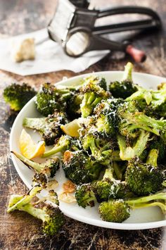Roasted Broccoli (Magic Broccoli) - the best damn broccoli you will ever have. 4 ingredient magic. www.recipetineats.com