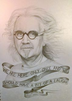 BBC Arts - BBC Arts - Ten of your brilliant Billy Connolly portraits Billy Connolly, Oscar Winning Films, Famous Logos, Art For Art Sake, Michael Fassbender, Love Painting, One In A Million, Man Humor, Funny People