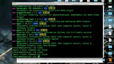 How to install QGIS on GNU Linux Manjaro