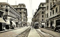 شارع عماد الدين، القاهرة، الثلاثينات.