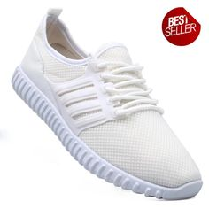 New York Sneakers Kurt Men's Rubber Shoes(WHITE) Best Sneakers, Adidas Sneakers, Rubber Shoes, Training Shoes, Looks Great, Pairs, York, Fashion, Moda