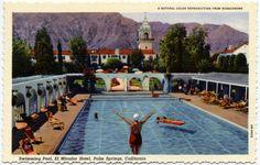 Swimming Pool, El Mirador Hotel, Palm Springs, California