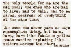 Kerouac...