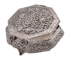 Home Decorative Products Indian White Metal Jewelry Box , Find Complete Details about Home Decorative Products Indian White Metal Jewelry Box,Antique Metal Decorative Jewelry Box,Indian Mughal Style Vintage Carving Box,White Metal & German Silver Products from -JAIPUR ONLINE SHOP Supplier or Manufacturer on Alibaba.com