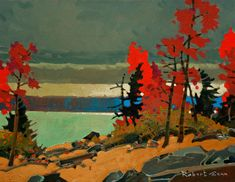 Counterpoint, Matheson Bay, Lake of the Woods, by Robert Genn