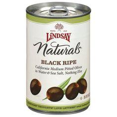 Lindsay Naturals Black Ripe Olive - Just olives.