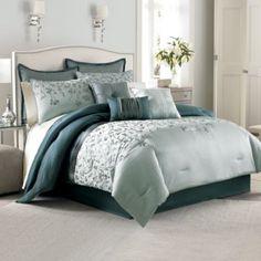 Manor Hill® Prelude 8-Piece Complete Comforter Set - BedBathandBeyond.com