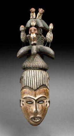 Igbo Maiden Spirit Mask