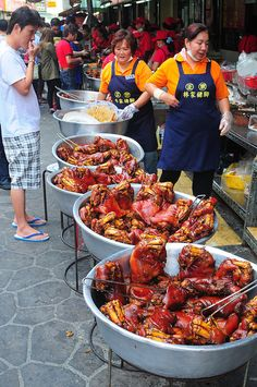 Taiwan Street Food: Pig Trotters #Expo2015 #Milan #WorldsFair