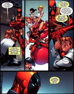 He doesn't aim too high. | 23 Reasons Everyone Should Love Deadpool