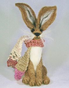 Needle felting kits for beginners. Brown Hare Needle Felting Kit Skill level: beginners and improvers
