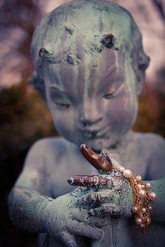 Pan's Necklace #Statue, #Child, #Mythology