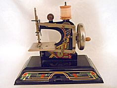 Casige Toy Sewing Machine British Zone