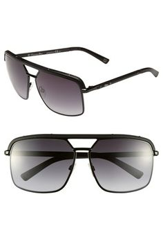 Dior 'Havane' Metal Aviator Sunglasses available at #Nordstrom