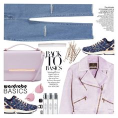 """""""back to basics"""" by ghdesigns-official ❤ liked on Polyvore featuring adidas, Roberto Cavalli, Ted Baker, Oliver Peoples, Charlotte Russe, Byredo and wardrobebasics"""