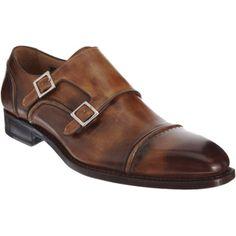 Harris Seamed Double Monk Shoe at Barneys.com