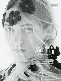 "Love Magazine #13 S/S 2015 | ""On"" by Sølve Sundsbø - Simone Rocha"