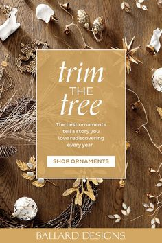 Spread the cheer and add ornaments to gifts and bowls. #ballarddesigns #ornaments