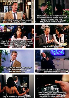 This makes me SO happy! Barney & Robin proposal, How I Met Your Mother.