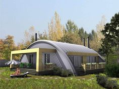 having a quonset hut house is a dope. check our ✅ ready for sale quonset house sample ✅ quonset home kit ✅ quonset interior ✅ quonset greenhouse Metal Building Kits, Metal Building Homes, Metal Homes, Building A House, Hut House, Dome House, House Roof, Tiny House, Quonset Hut Homes