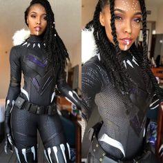 Shuri Black Panther cosplay by Cutiepiesensei Cosplay Cute Cosplay, Amazing Cosplay, Cosplay Outfits, Best Cosplay, Cosplay Girls, Simple Cosplay, Todoroki Cosplay, Casual Cosplay, Cosplay Makeup