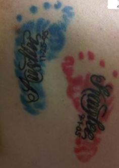 Kinda want something like this on my back with ryders name and leave room for next kid!