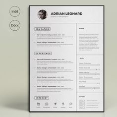 Super Resume by sz81 on Creative Market