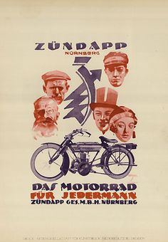 Zündapp: Das Motorrad
