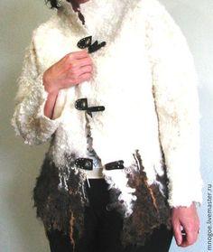 """Пиджаки, жакеты ручной работы. Ярмарка Мастеров - ручная работа Жакет """"Абадан"""" Эко мех.. Handmade."""