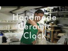 how to make a handmade ceramic clock