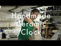 how to make a handmade ceramic clock