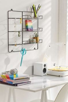 Booker Metal Wall Storage | Urban Outfitters | Home | Furniture