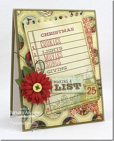 Document It December, Journal It Top Ten, Accent It Flags & Tags Die-namics - Barbara Anders